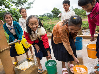 School support committee brings  access to water to local school