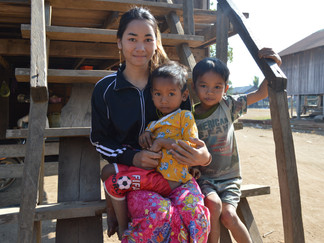 Women in Ratanak Kiri face the same family challenges as mothers around the world; Klem shows how sh