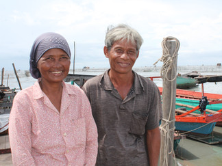 Savings group provides a safety net  for fishing family
