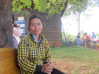 Phnong woman leads improvements in her local primary school