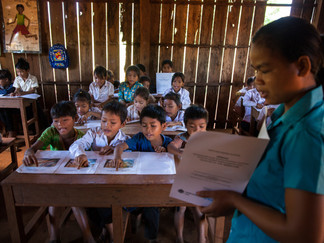 Cambodia viewed as role model in the region for ensuring indigenous girls and boys can access educat