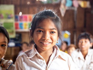 """""""After I graduate, I'll hopefully become a teacher"""" said Thida."""