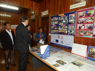 EU Ambassador learns of CARE's impacts in north-east Cambodia