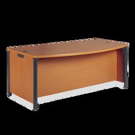 """Plateau Desk 60"""" x 36"""" Bowfront Top"""