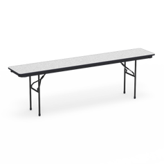 """6000 Series Rectangle Folding Table 18"""" x 96"""" Top"""