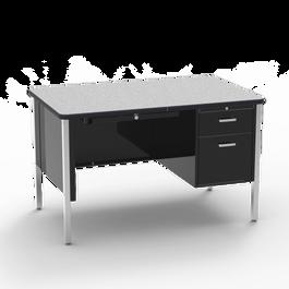 540 Teacher Desk Single Pedestal