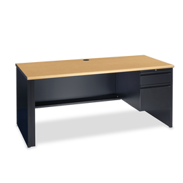 53 Desk with Right-Hand Pedestal