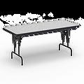 6000 Series Rectangle Folding Table 30x7