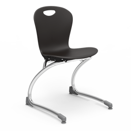 V2 ZUMA Series Stacking Cantilever Chair