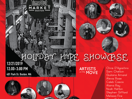 Holiday Hype Showcase at Time Out Market