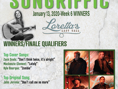 Meet the finalists of Songriffic's last qualifier round