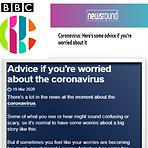 Corona BBC Advice