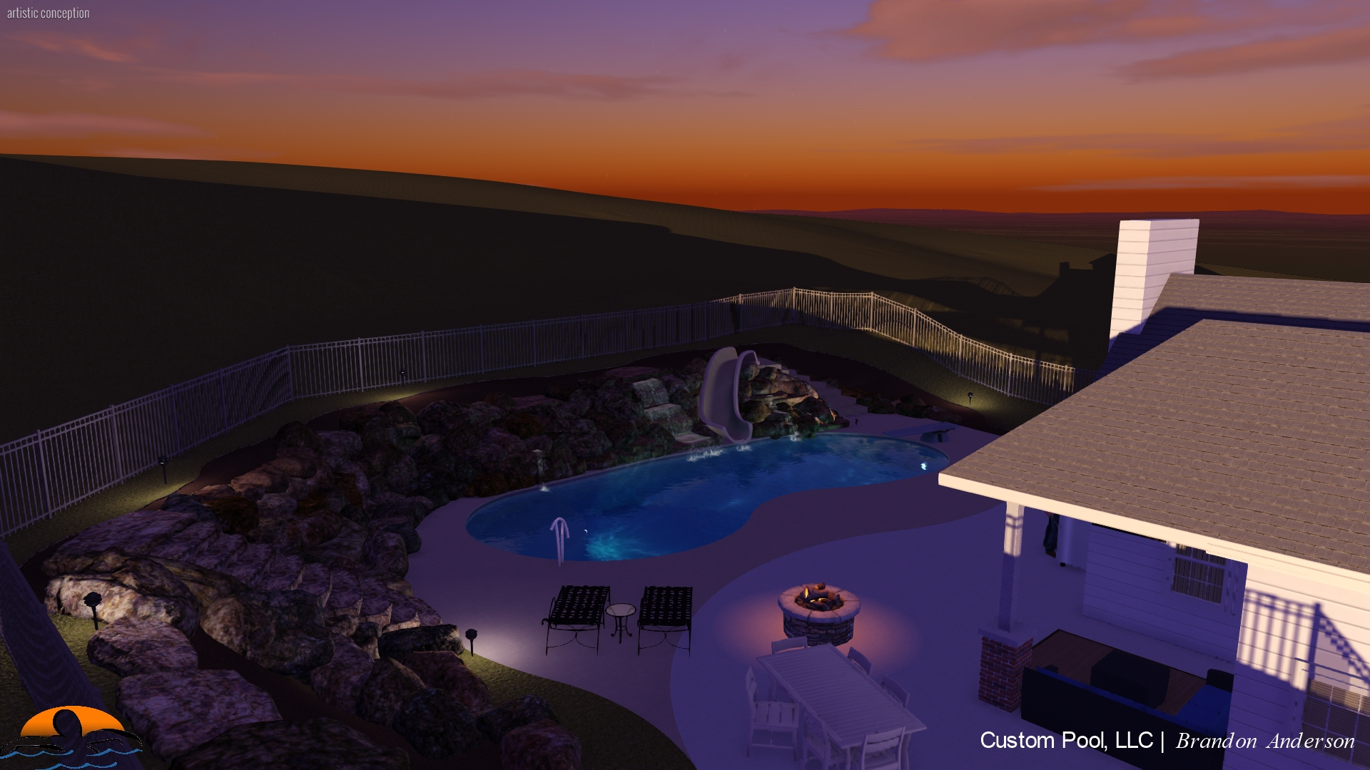New Pool Rendering