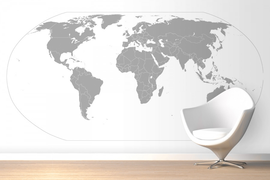 artistic-grey-curved-world-map-wallpaper