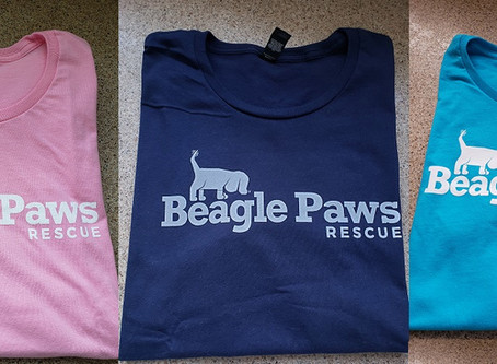 NEW Beagle Paws T-Shirts