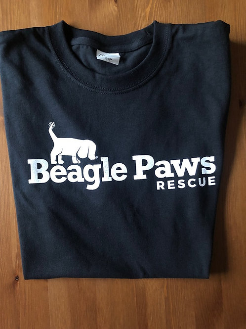 Beagle Paws Rescue Shirt - BLACK