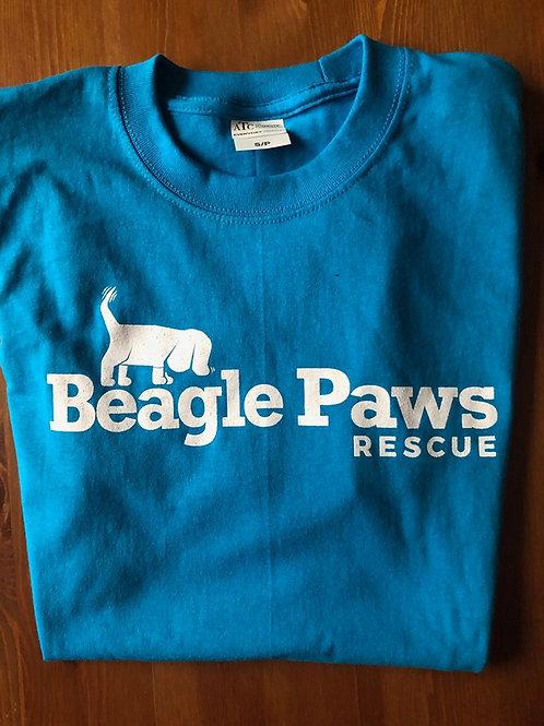 Beagle Paws Rescue Shirt - BLUE