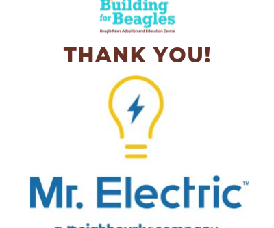 THANK YOU to Mr. Electric