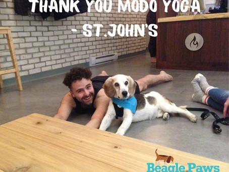 THANK YOU to Modo Yoga