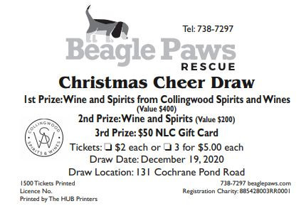 Christmas Cheer Ticket Draw