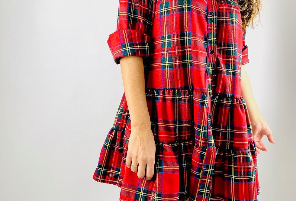 Vestido escoces. VE005