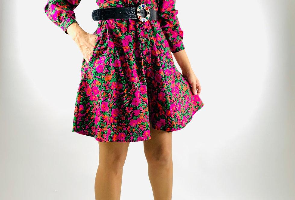 Vestido Floral. VE004