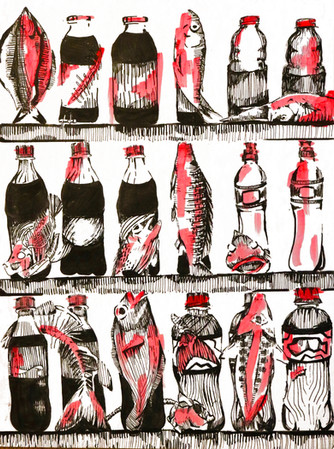Fish and Bottles
