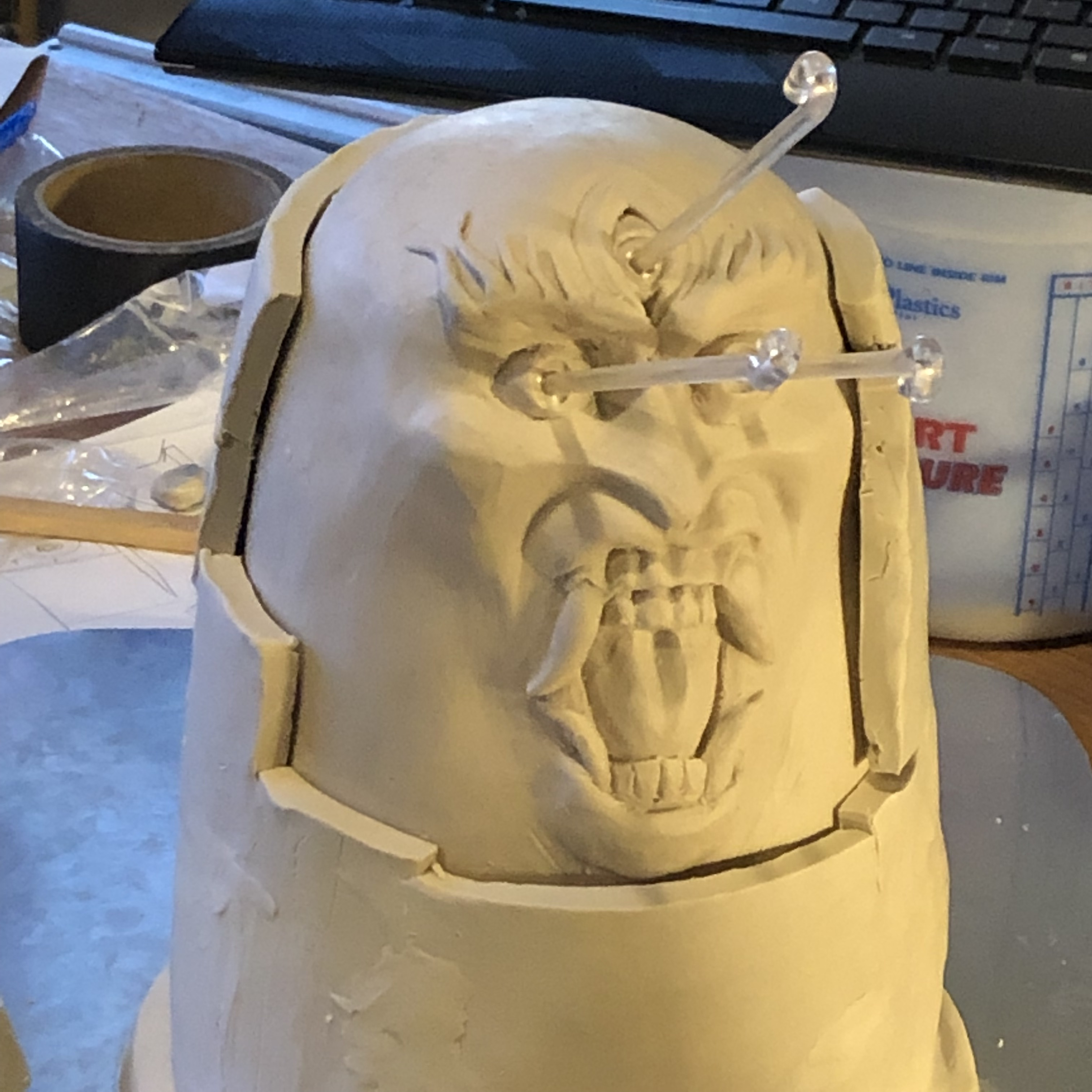 Adding a layer for the mother mold