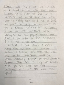 Respect for All Essay by Jian (2nd Grade)