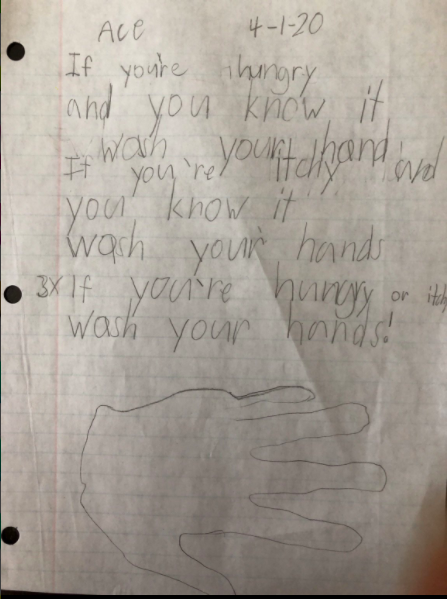 Poem by Ace (1st Grade)