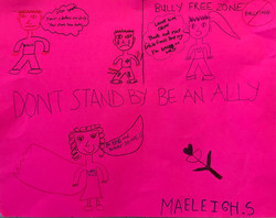 Respect for All Poster by Maeleigh (3rd Grade)