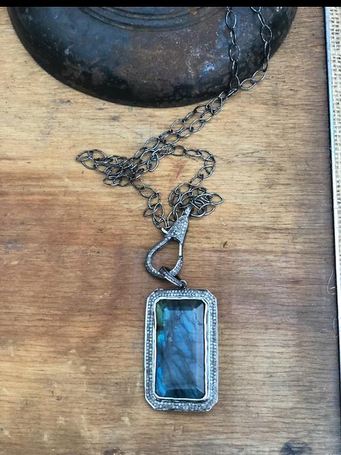 Labradorite and Diamonds