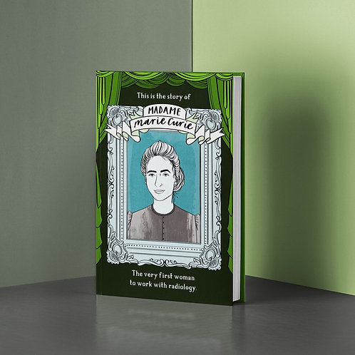 Marie Curie Herstories Hard Back Book