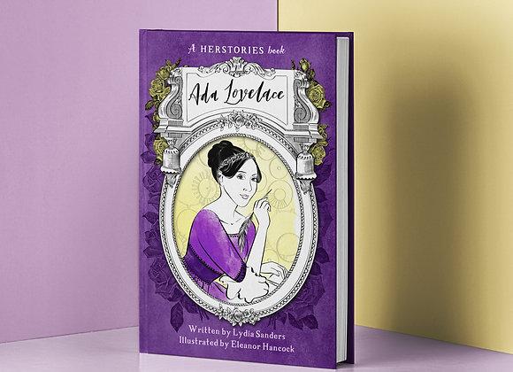 Ada Lovelace Herstories Hardback Book