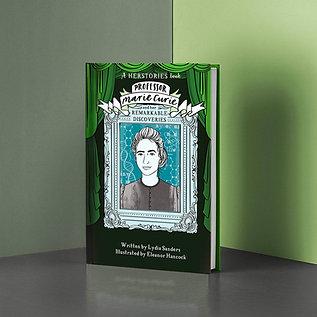 Marie Curie Herstories Hardback Book