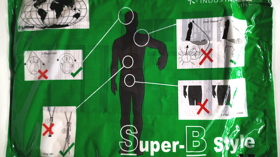 Lakeland Super-B Style Cat.III Protective Clothing XL