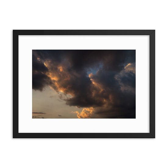 Framed Cloud Print