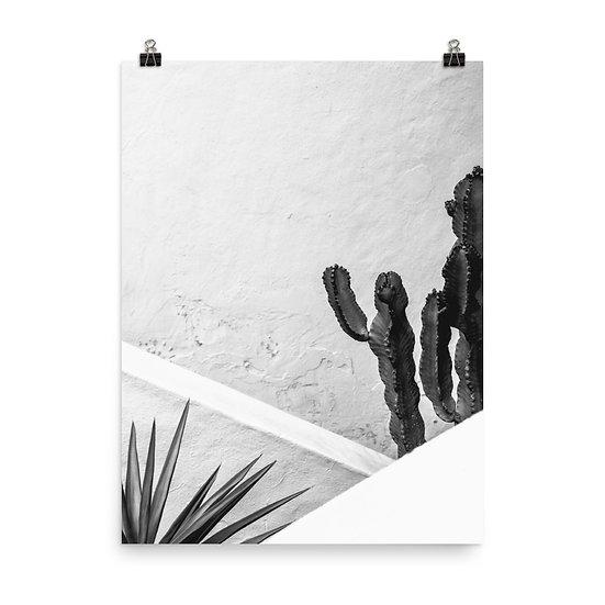 Minimal Cactus 2 Print