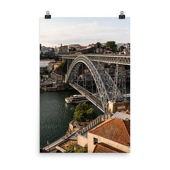 Porto Bridge Poster
