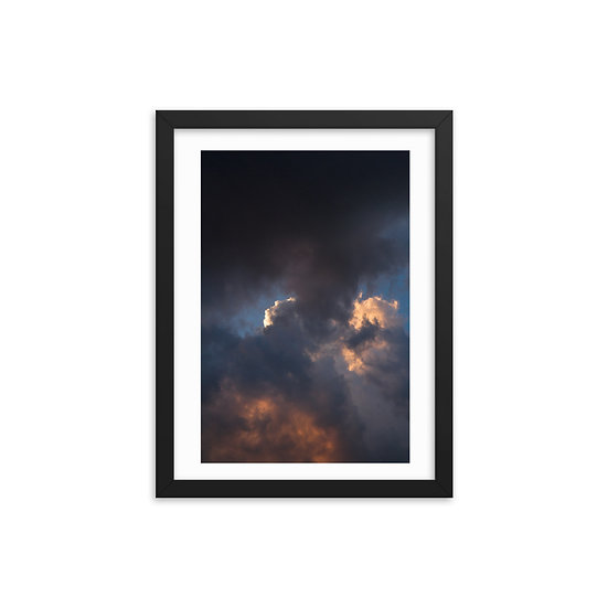 Cloud 2 Framed Print