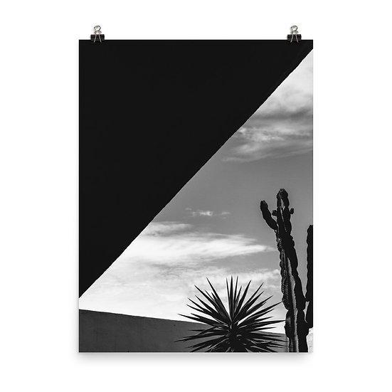 Minimal Cactus 1 Print