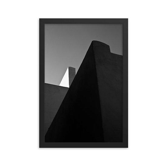 Minimal Architecture Framed Print