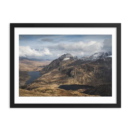 Cwm Idwal Framed Print