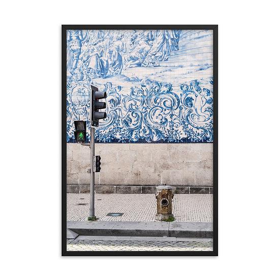 Walk Framed poster