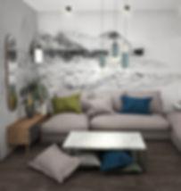 Koncepcja 2_Aranżacja mieszkania na wynajem | architekt wnętrz Gdańsk