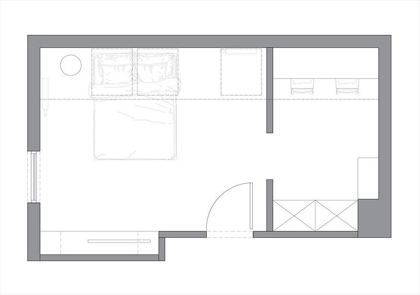 KONCEPCJA 2 | Dizain Rum | Architekt wnętrz Gdańsk, Gdynia, Sopot