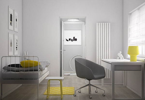 Pokój dziecięcy pokój młodszej koncepcja 2 | Architekt wnętrz Gdańsk, Gdynia, Sopot | DIZAIN RUM