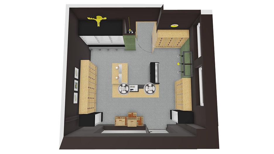 Bimbeer Sopot | Architekt wnętrz Gdańsk, Gdynia, Sopot | DIZAIN RUM