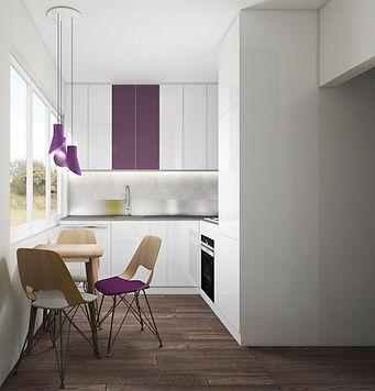 Biała kuchnia nie musi być nudna   Architekt wnętrz Gdańsk, Gdynia, Sopot   Dizain Rum