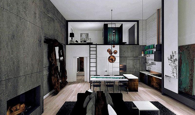 Loft Gdańsk | Architekt wnętrz Gdańsk, Gdynia, Sopot | DIZAIN RUM